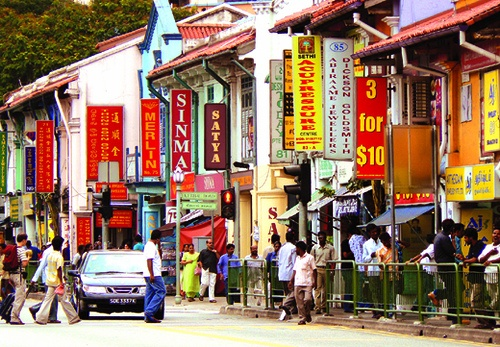 Serangoon Road, Little India of Singapore by williamcho, via Flickr