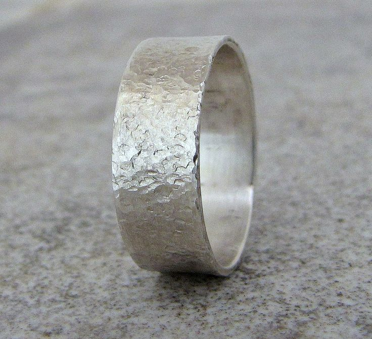 Best 10 Mens silver wedding bands ideas on Pinterest Sterling