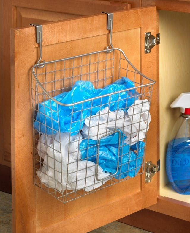 Here's how you handle your collection of shopping bags.