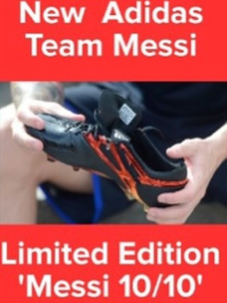 New Team Messi 10/10  Limited Edition