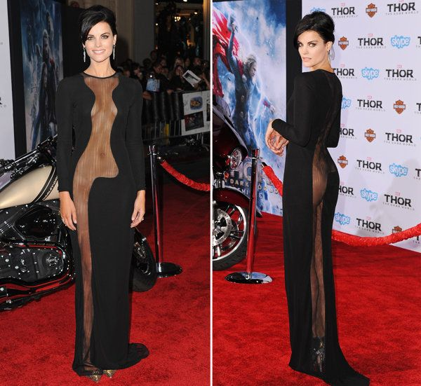 Exclusive: Jaimie Alexander on 'Naïve' Decision to Wear Sheer 'Thor' Gown