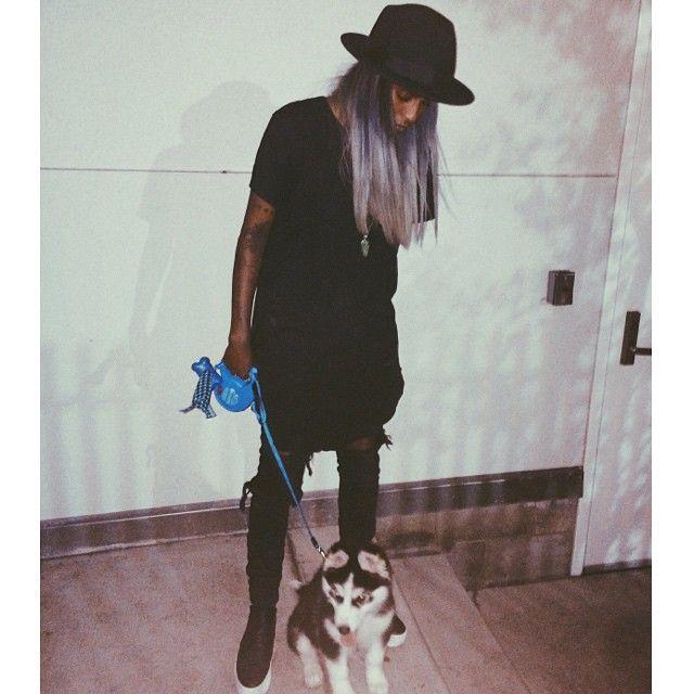 Angel Haze + Kota go for a walk!