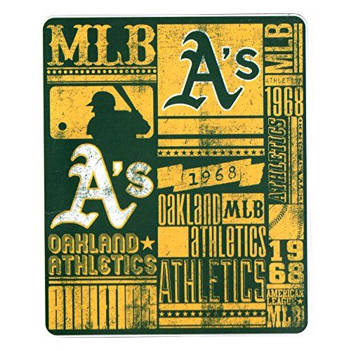 Oakland Athletics Blankets