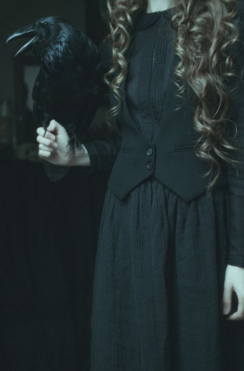 Octavia Crow is the daughter of a dark witch & evil sorcerer who live in a cabin in the south