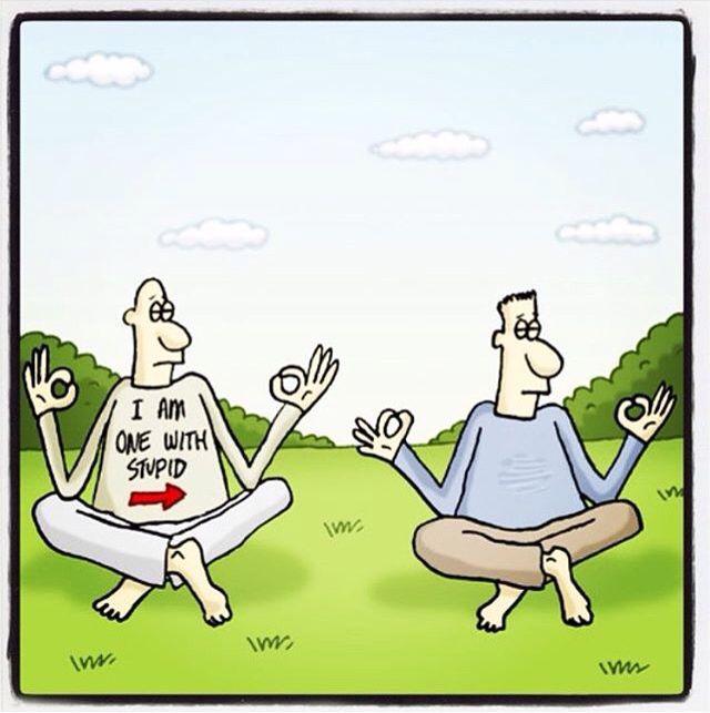 52 best Meditation Humor images on Pinterest   Zen, Yoga ...
