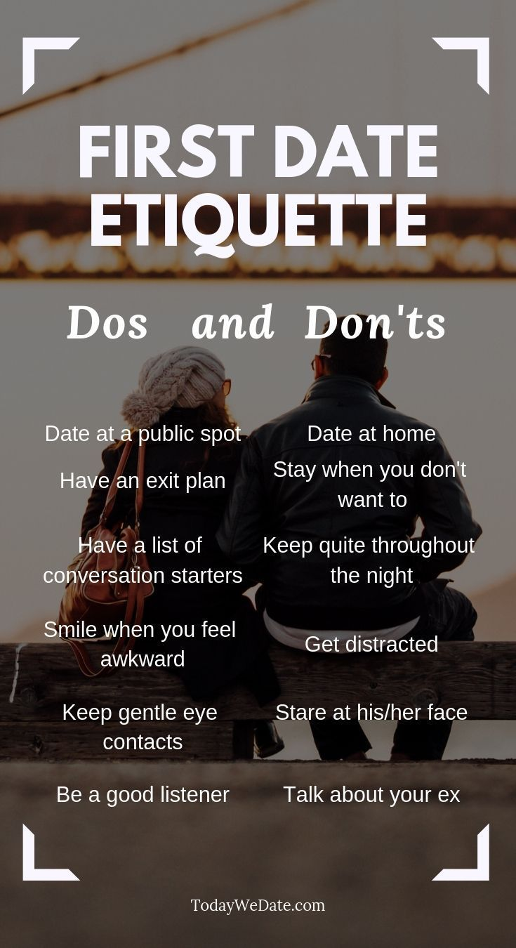 Dating do es and don  ts