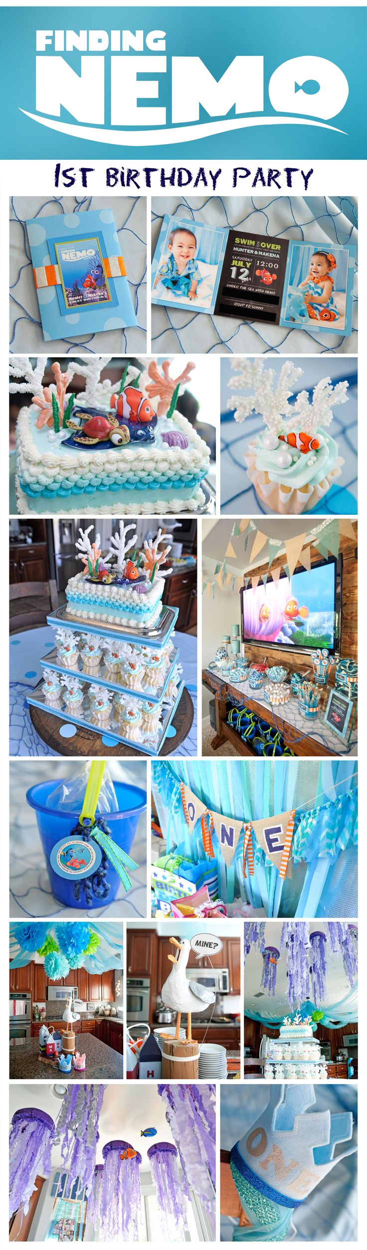 Finding Nemo Birthday Party | Under the Sea Adventure