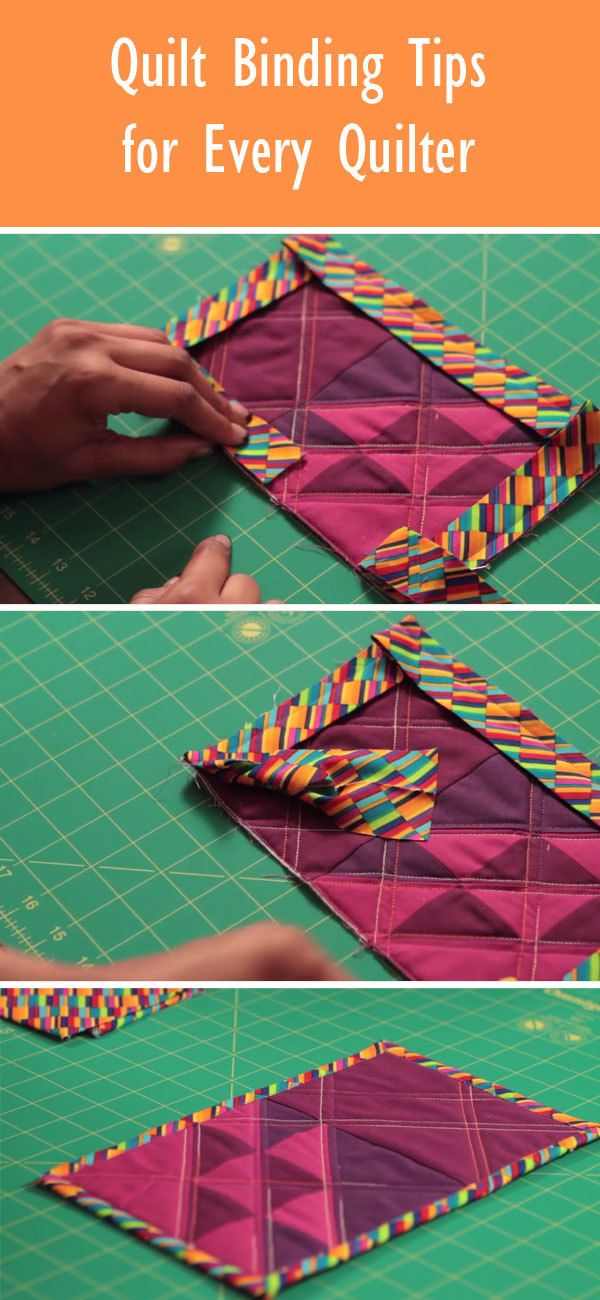 Discover quilt binding techniques and tips every quilter should know! More