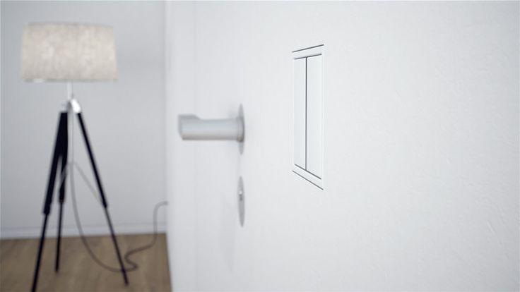 #projektowaniewnętrz #Warszawa, #white #Lampa, #wyłącznik, #lszero #LSzero #interiordesign #table #switch #JUNG