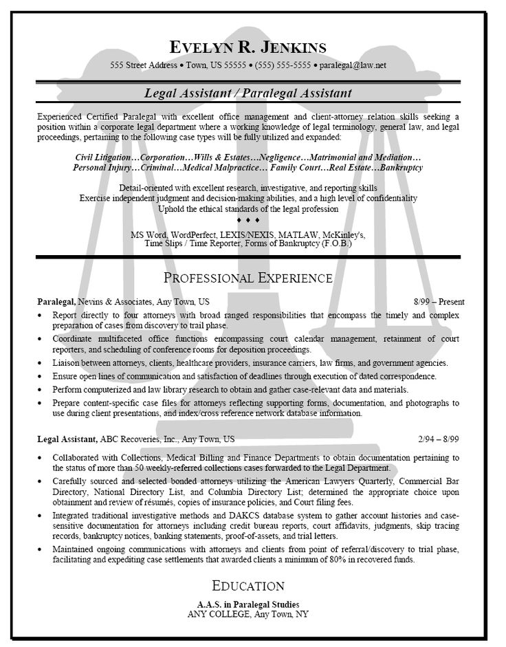 56 best Resume Power! images on Pinterest Resume help, Resume - corporate attorney resume