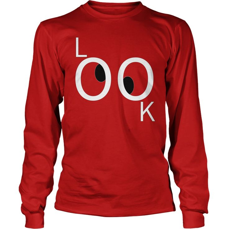 Look, but don't touch! Funny cartoon tee design, humorous shirt, wicked looney eyes