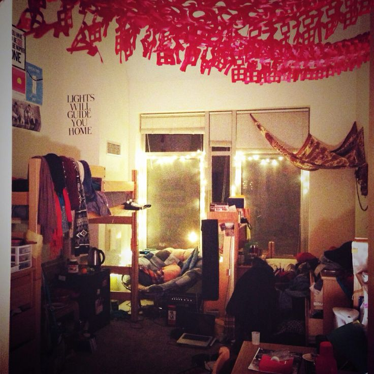 Cozy College Dorm Room | College dorm, College dorm rooms ...