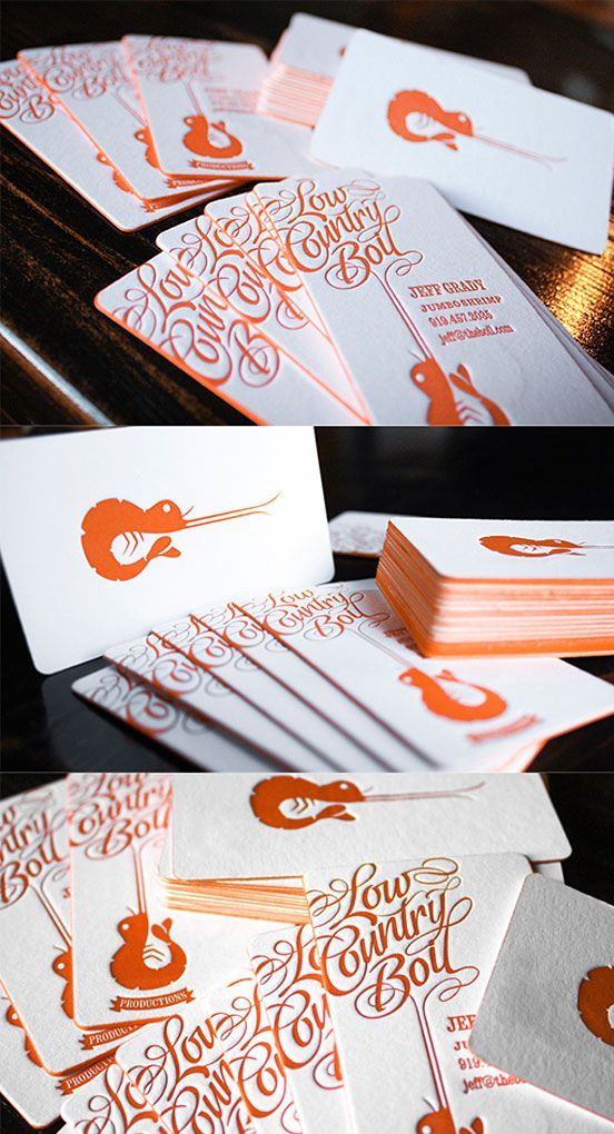 Fantastic Typography Business Cards | Business Cards | The Design Inspiration