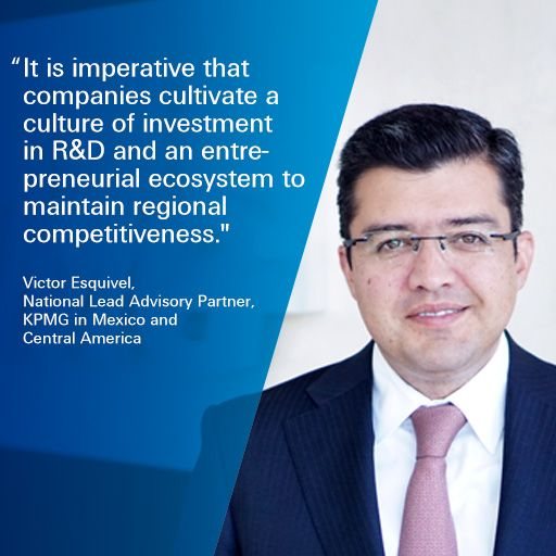 Companies must invest in R&D and entrepreneurship to maintain regional competitiveness. #WEFLIVE #WEFLATAM