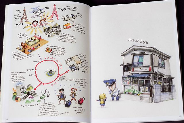 Tokyo on Foot: Travels in the City's Most Colorful Neighborhoods by Parka81, via…