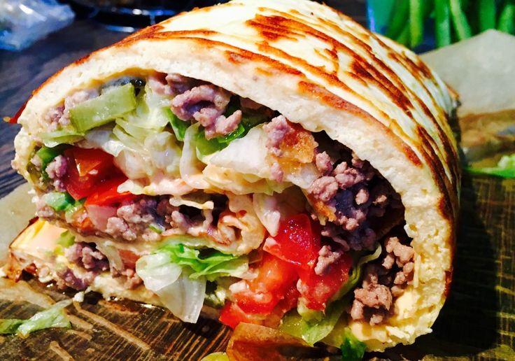 Low Carb Rezepte: Low-Carb Big Mac Rolle