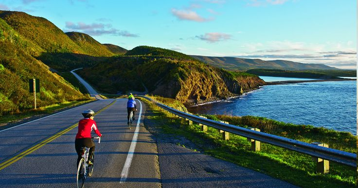 Cycle the Cabot Trail in Nova Scotia.