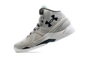 6774127eaf7 Mens Under Armour Curry 2 Two UA Gray Storm White1259007-052 Basketball  Shoes