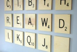 10 Typography Canvas DIYs