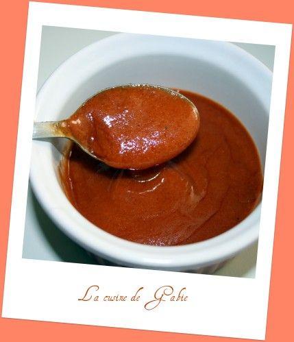 Sauce barbecue (thermomix) - Le blog de gabrielle