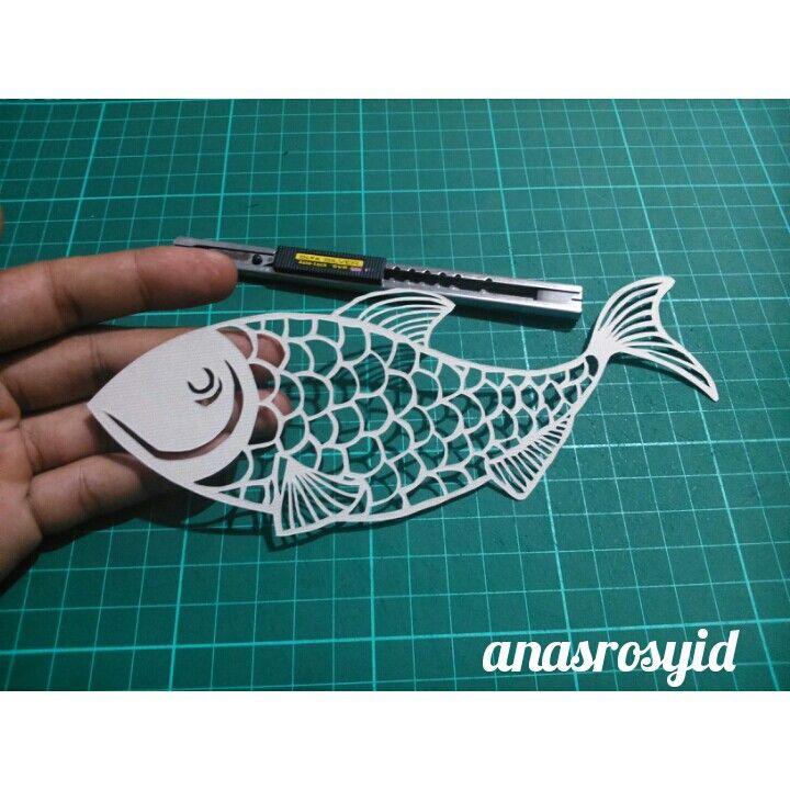 #fish #papercut