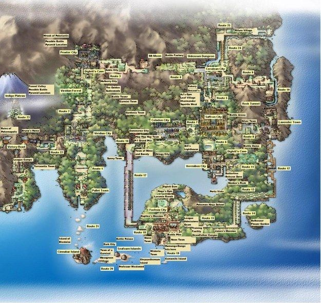 We Can Guess What Your Favourite Pokemon Region Is