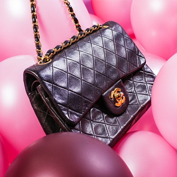 CHANEL - a Small Classic Double Flap handbag.