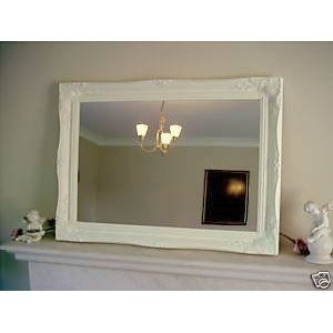 Mirror above mantle