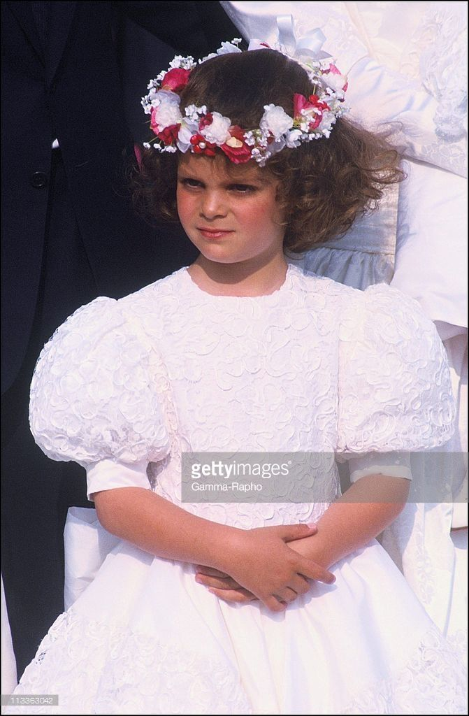 Christina Onassis And Her Daughter Athina Onassis-Roussel - On November 3Rd, 2005 - In France - Here, 1990, Athina At The Wedding Of Thierry Roussel
