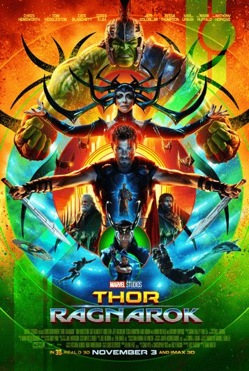 """Marvel's had a busy Saturday at San Diego Comic Con. On Saturday, they released a new trailer for this fall's """"Thor: Ragnarok.""""  The third Thor-centric film shows what the God of Thunder was up to instead of joining last year's Civil War.   #Anthony Hopkins #Cate Blanchett #Chris Hemsworth #Eric Pearson #Idris Elba #Jaimie Alexander #Jeff Goldblum #Mark Ruffalo #Marvel Cinematic Universe #movie trailers #Taika Waititi #Thor: Ragnarok #trailers"""