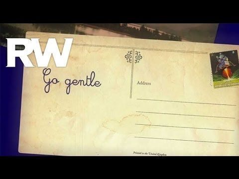Official Robbie Williams lyric video for Go Gentle, the first single taken from the No.1 album Swings Both Ways. Buy the album: iTunes standard: http://po.st...