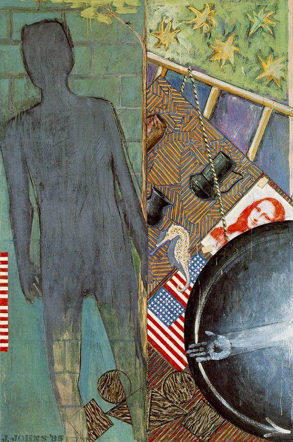 The Seasons (Summer), 1987 by Jasper Johns