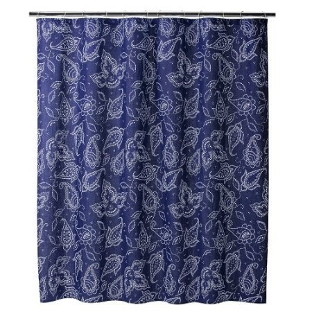 Best 27 Blue Paisley Shower Curtain Images On Pinterest Home Decor