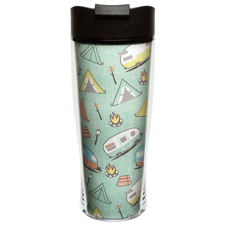 RV and Camper Insulated Travel Mug - Toyhauler
