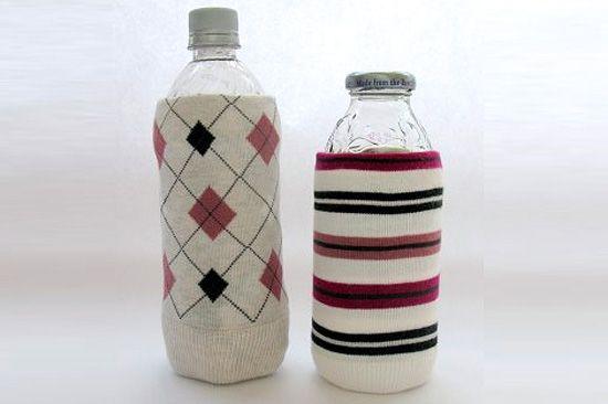 Calcetines fundas protectoras personalizar botellas