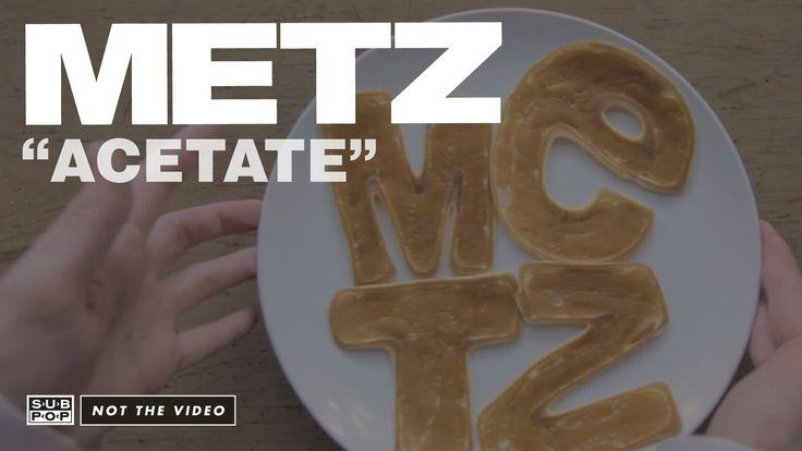 """Acetate"" from the upcoming METZ album, ll (out May 5th, 2015) Itunes https://itunes.apple.com/us/album/ii/id961251374 Sub Pop Mega Mart https://megamart.sub..."