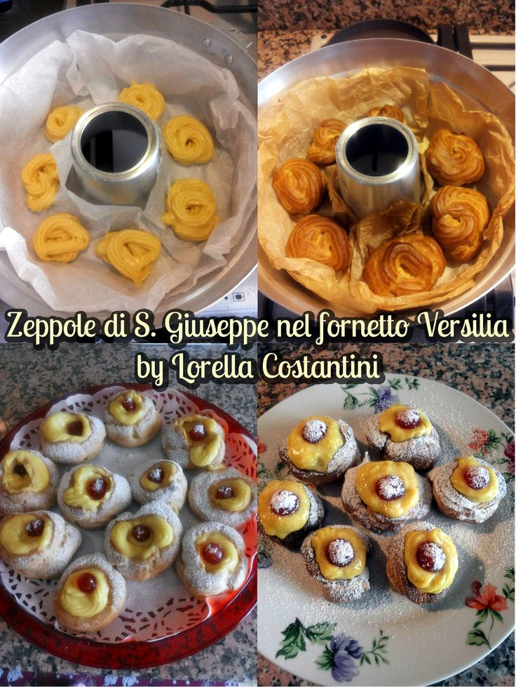 Zeppole di San Giuseppe al forno, fornetto Versilia, Mangia senza Pancia