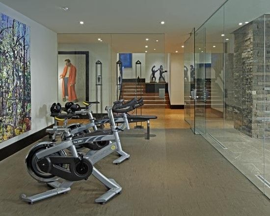 Home Gym Design, Pictures, Remodel, Decor And Ideas   Page 9