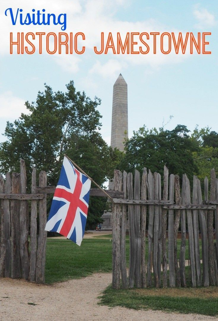 Visiting Historic Jamestowne near Colonial Williamsburg in Virginia