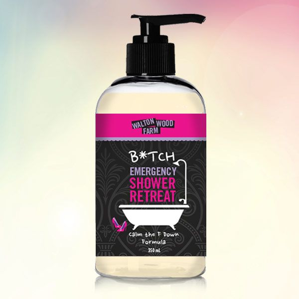 Stop blaming it on your hormones. Do you need a warning label? Hazardous to human interaction? Take a breather and wash away your b'attitude with this lemon drop shower retreat. Now, dry off and put on your Big Girl Panties. You're refreshed, composed and in control. 100% North American crafted. SLS, paraben and dye free… …
