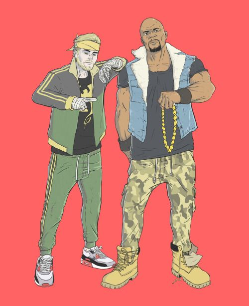 Powerman and Iron Fist  Luke Cage & Danny Rand Heroes for Hire Run the Jewels
