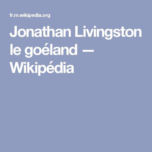 Jonathan Livingston le goéland — Wikipédia