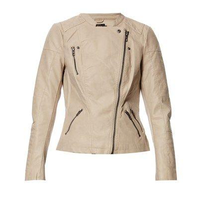 Prezzi e Sconti: Only #giacca beige Donna  ad Euro 50.95 in #Giubbotti giacche #Cappotti giacconi