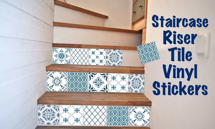 vinyl decals wall stickers stairs vinyls bathroom wall wall tiles