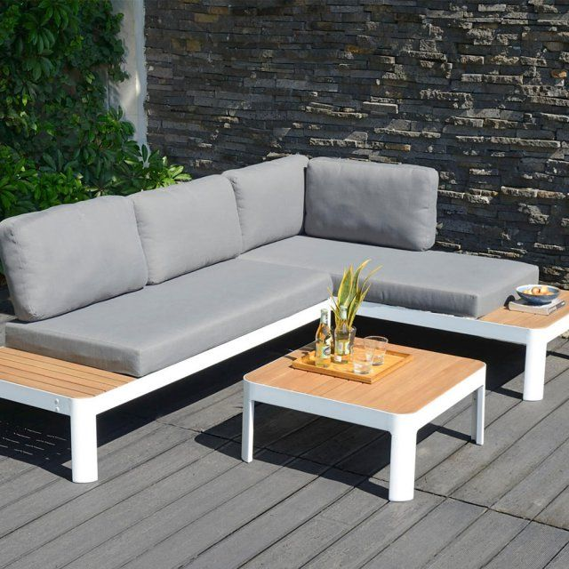 Table basse beton cire fly for Table de jardin en beton cire