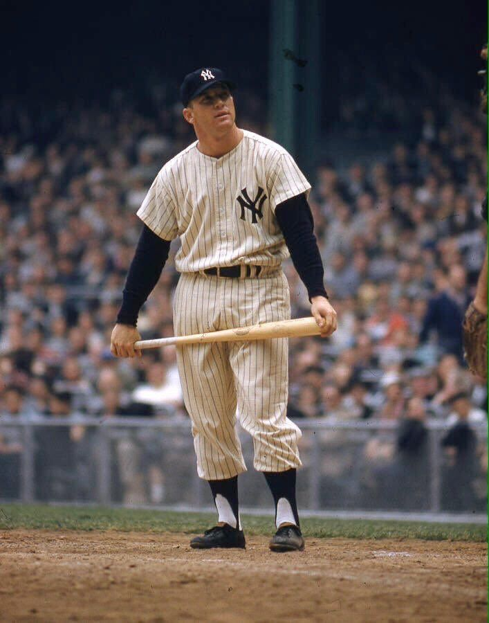 Tom S Old Days On Twitter Mickey Mantle Yankees Baseball Players New York Yankees