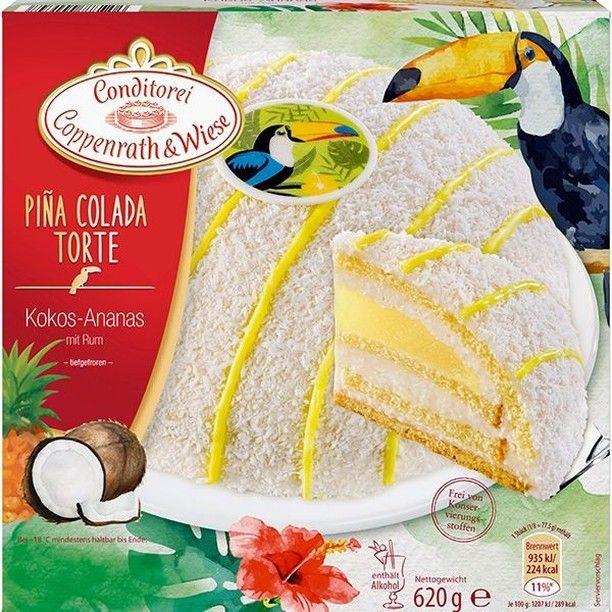 Nur In Dieser Woche Bei Netto Marken Discount Der Cocktail Klassiker Fur Eure Kaffeetafel Unsere Pina Colada Torte Mit Tre Pina Colada Kokos Sahne Kokossahne