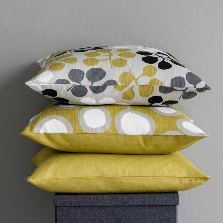Gorgeous Scandinavian fabrics for curtains, blinds, cushions and more available from Hus & Hem. Including the whole collection of Swedish fabrics & cushions by Spira. Patterns clash & unexpected colour combinations bring excitement and personality to the home! www.husandhem.co.uk