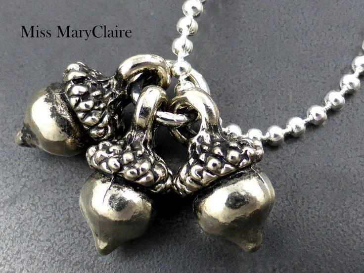 ♥ Drei Nüsse für Aschenbrödel ♥ Echte Silberkette von MissMaryClaire Atelier ✿ Das Original ✿ Since 2012 auf DaWanda.com