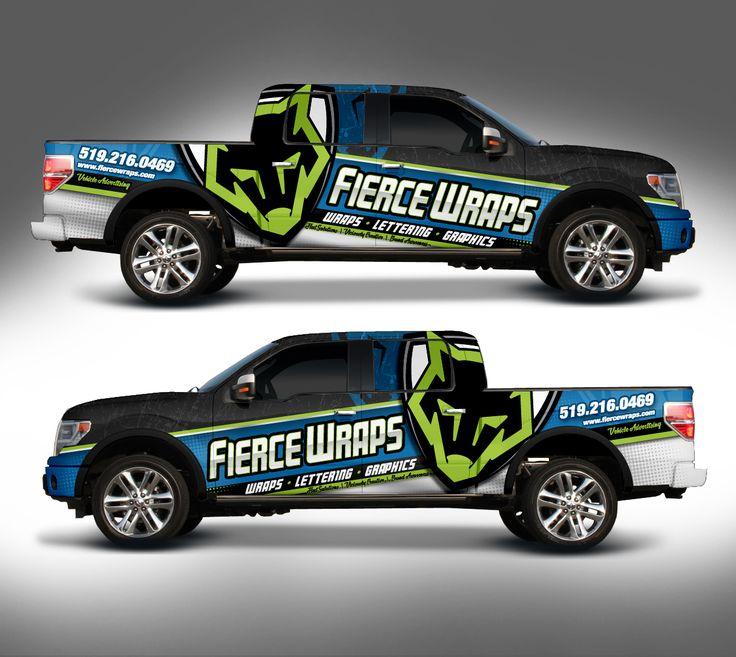 Truck Wrap Design for FierceWraps